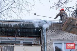 Жителей Прикамья предупреждают о снеге и сосульках на крышах домов