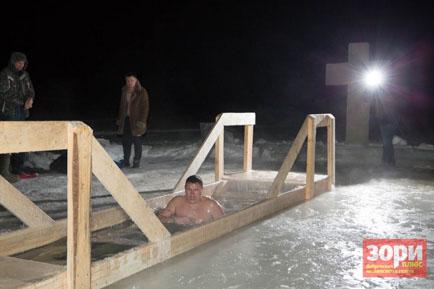 Где окунуться в Крещение?