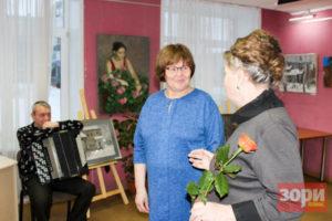 Новые выставки в Добрянской библиотеке: Когда душа просит творить