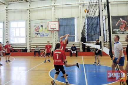 Стартовало Открытое первенство Пермской ГРЭС по волейболу