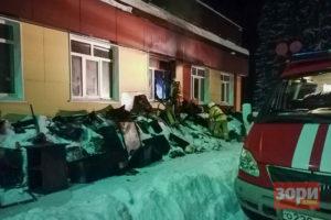 В Добрянском округе сгорела квартира