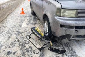 Автоледи, сбившая ребёнка на снегокате, была нетрезвой