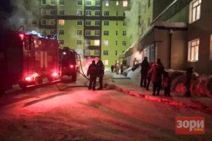 Пожар в добрянском «сиротском» доме