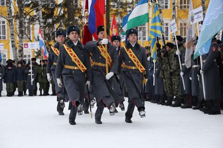 В Перми стартовал международный слёт кадетов