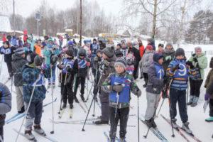 В Добрянском округе вышли на «Лыжню России»