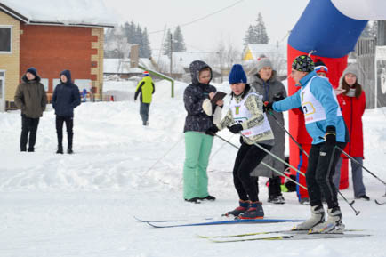 Работники выбрали лыжи