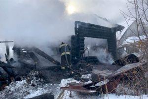 Житель Добрянского округа погиб в огне