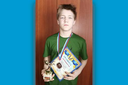 Полазненский юноша завоевывает награды в дзюдо и вольной борьбе
