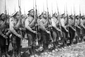 О героях забытой войны