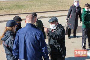 Добрянские пенсионеры поспорили с полицией
