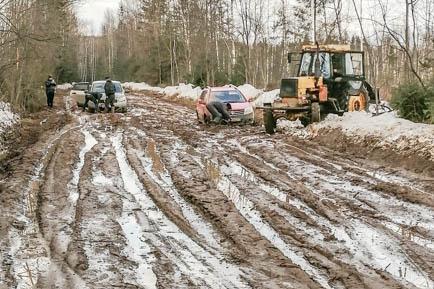 Жители Добрянского округа не могут проехать к своим домам
