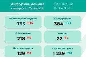 В Прикамье 10 новых случаев коронавируса