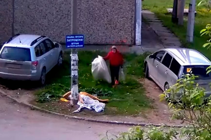 В Добрянском округе нарушителей чистоты снимают на камеру