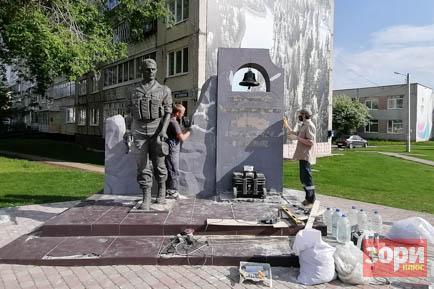 В Добрянке ремонтируют памятник