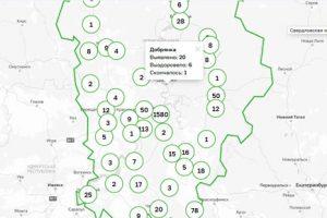 В Добрянском округе – 20 случаев коронавируса