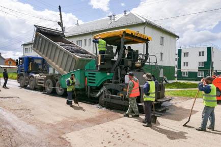 В Добрянском округе обновят 40 дорожных участков