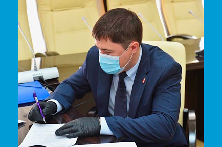 Дмитрий Махонин выдвинулся на выборы губернатора