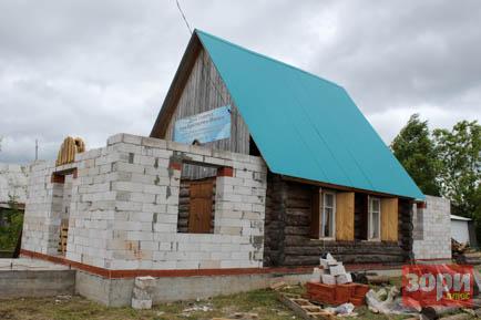В Дивье предприниматель строит церковь