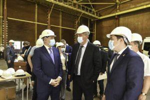 Глава Роскосмоса оценил пермскую промышленность