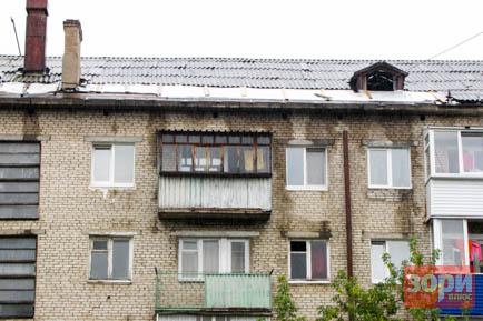 Ремонт добрянского дома обернулся потопом