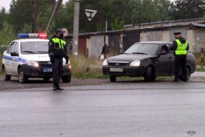 В Добрянке устроили массовую проверку водителей