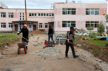 В Добрянке начался капитальный ремонт главного корпуса детского сада №21