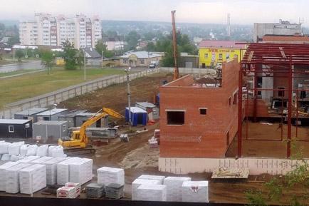 В Добрянском округе, благодаря краевой поддержке, строятся новые объекты