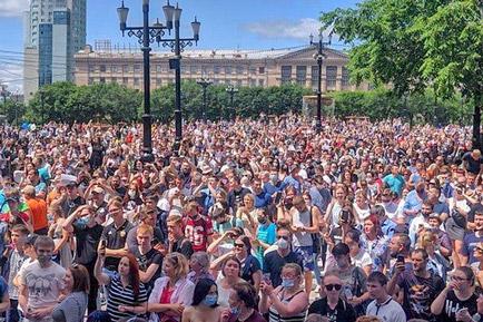 Этим летом участились народные митинги и пикеты