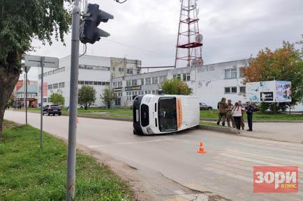 ДТП в центре Добрянки