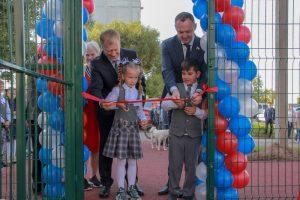 В Добрянском округе появилось два новых спортивных сооружения