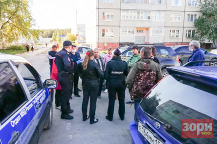 Противостояние жителей Добрянки и иногородних газовиков смогла пресечь только полиция