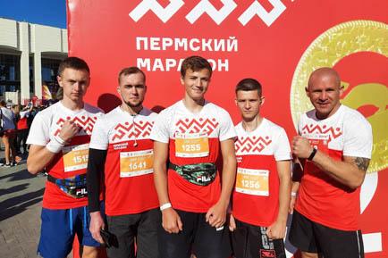 Жители Добрянского округа стартовали на всех дистанциях Пермского марафона