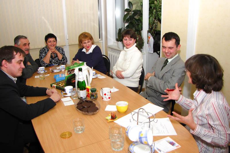 Читательский совет в редакции, 2009 год.