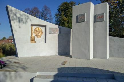 В селе Никулино отремонтировали памятник