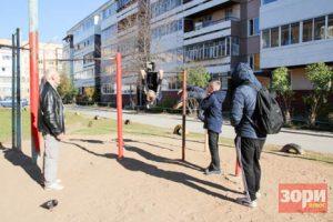 Из-за конфликта жильцов дома с подростками из двора уберут турники