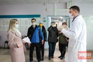 Добрянцы призвали главврача больницы к ответу