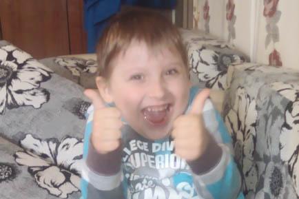 Четырёхлетний Кирилл Морозков очень ждёт новую инвалидную коляску