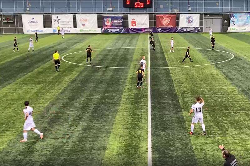 Добрянцы уступили в первом зимнем матче по футболу