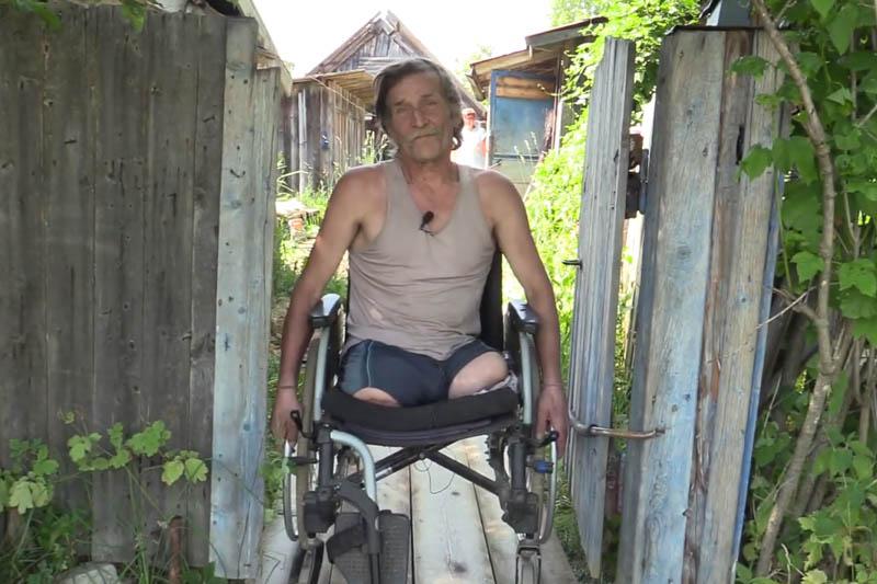 Неравнодушные жители посёлка Вильва помогли одинокому инвалиду